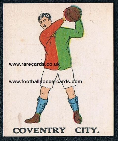 1923 Coventry City Battock's type I